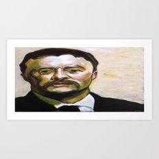 President Theodore Roosevelt Art Print