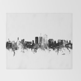 Tucson Arizona Skyline Throw Blanket
