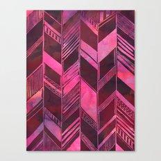 PATTERN {chevron 007} Canvas Print