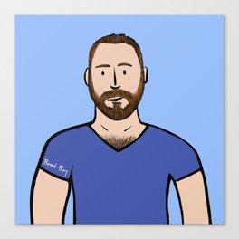 Beard Boy: Matthias Canvas Print