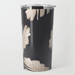 Sepia Banana Leaves Dream #2 #foliage #decor #art #society6 Travel Mug