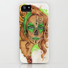 Sugar Skull Beauty iPhone Case
