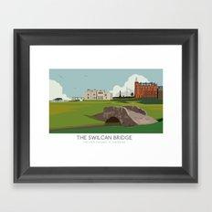 Swilcan Bridge Framed Art Print