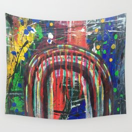 There Is Nothing Left Over The Rainbow Wall Tapestry