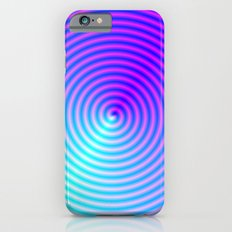 Coiled in Blue and Pink iPhone 6s Slim Case