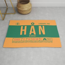 Baggage Tag B - HAN Hanoi Noi Bai Vietnam Rug