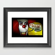 They Float, Georgie Framed Art Print