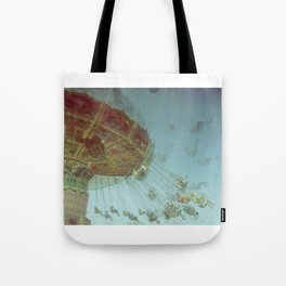 Fair in Motion: Swing Chairs Tote Bag