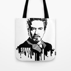 Avengers in Ink: Iron Man Tote Bag