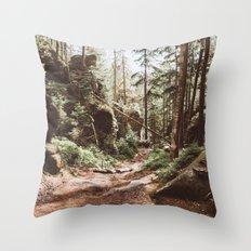Wild summer Throw Pillow