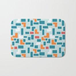 Bricks - dark Bath Mat