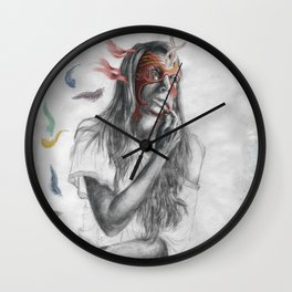 Float Away Wall Clock