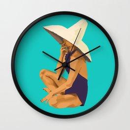 Criss Cross Applesauce Wall Clock