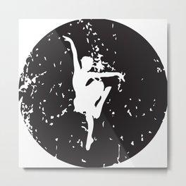 Ballet Circle Metal Print