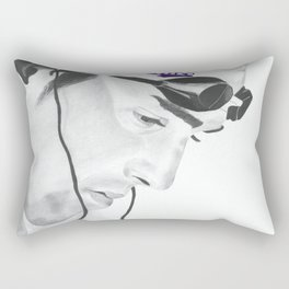 Michael Phelps Rectangular Pillow