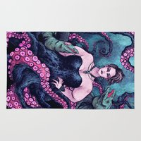 ursula Area & Throw Rugs featuring Ursula by Angela Rizza