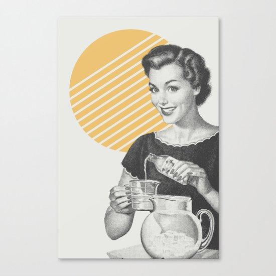 When Life Hands You Lemon Juice Concentrate -- Make Lemonade. Canvas Print