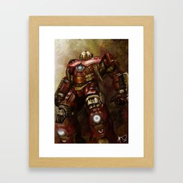 The Hulkbuster  Framed Art Print