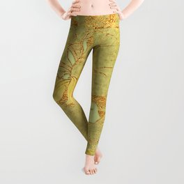 Sunflowers Golden Garden Leggings