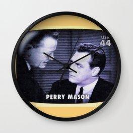 Perry Mason Wall Clock