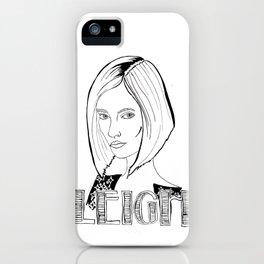 Leigh  iPhone Case