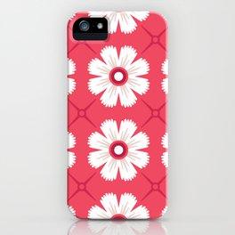 Sun and petals iPhone Case