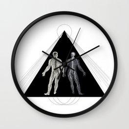 His Shadow Wall Clock