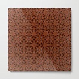 Potter's Clay Geometric Metal Print