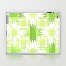 Intersecting Lines Pattern Design Laptop & iPad Skin