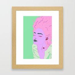 G-L-O-R-I-A Framed Art Print