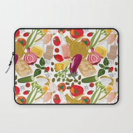 Fresh Italian Market Food Laptop Sleeve