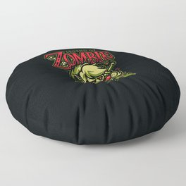 Legend of Zombie Floor Pillow