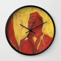soviet Wall Clocks featuring Soviet by Gokhan Gokseven