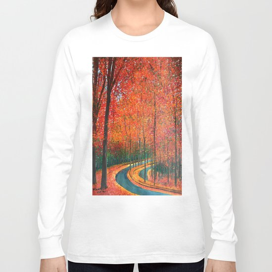 Beautiful colors of Autumn Long Sleeve T-shirt