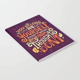 Thoughts are only thoughts Notebook