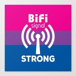 BiFi Signal Strong Canvas Print