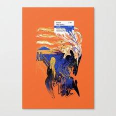 The Liquify Canvas Print