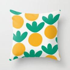 Minimalist Fruit Summer Pattern Throw Pillow