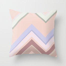 Baesic Chevron (Earthtones) Throw Pillow