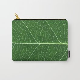 Details of a leaf Carry-All Pouch