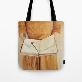 Secret Book Tote Bag