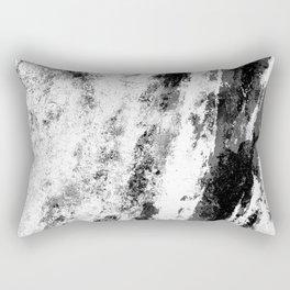 Perseverance Black & White Rectangular Pillow