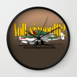 Volksjager 162 Wall Clock