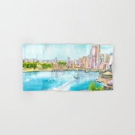 A Colorful Twist on Sydney Harbour Hand & Bath Towel