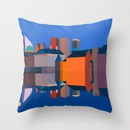 The Hague Double Faced Throw Pillow