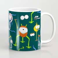 monsters Mugs featuring MONSTERS!!! by d.ts