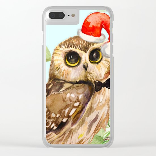 Winter animal #1 Clear iPhone Case