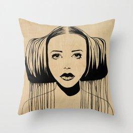 Star Princess Throw Pillow