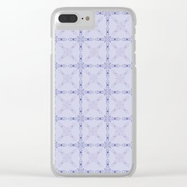Tic Tac Toe Clear iPhone Case