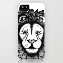Maned Lion King iPhone Case